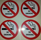 No smoking stickers signs 75 mm for Taxi Mini Bus Cab Private Hire car for sale
