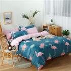 New Cotton Quilt/Doona Cover Set Single/DB/Queen/King Size Bed Linen Rose Blue