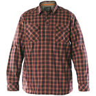5.11 Classic Mens Tactical Flannel Covert Shirt Work Wear Long Sleeve Ox Blood