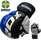 RDX MMA Grappling Gloves Boxing Thumb Enclosure Fight Muay Thai Mitts IMT