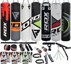 Kyпить RDX Punching Bag Filled Heavy Set Punch Kick Boxing Gloves Chains Hanger MMA  на еВаy.соm