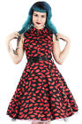 Hearts and Roses H&R Pin Up 1950's Retro Sweet Kisses Swing Dress Rockabilly