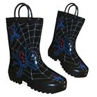 Boys Wellies UK 4,7,8,11 Rain Snow Winter Child Pull On Handles Wellington Boots