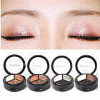 Mini 3 Colors Eyeshadow Natural Smoky Cosmetic Eye Shadow Palette Portable Set