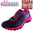 Asics Womens Gel-Fuji Attack 4 All Terrain Trail Running Shoes Blue *AUTHENTIC*