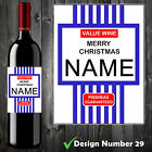Personalised Tesco Value Wine Bottle Label, Funny, Spoof,Perfect Birthday Gift