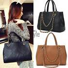 Ladies Designer Large Womens Leather Tote Shoulder Bag Hobo Handbag Shopper TXST