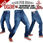 K MEN MOTORBIKE E MOTORCYCLE V DENIM REINFORCE L JEANS WITH A PROTECTIVE LINIG R