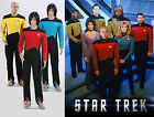 Star Trek TNG Cosplay Costume Command Red Yellow Sceince Blue Jumpsuit Uniform