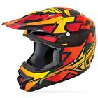 Fly Racing Kinetic Block Out Full Face MX Offroad Motocross Helmet