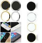 Home Button Sticker Metal Aluminium For Apple iPhone6 5S 5C 4 4S iPod Touch iPad