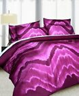 3 Pce Midnight Pink Quilt Doona Duvet Cover Set NEW - QUEEN KING