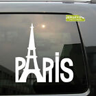 Paris Eiffel Tower La Tour France French Car Decal Sticker