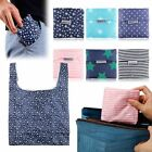 NEW Foldable Friendly Reusable Eco Storage Travel Shopping Tote Grocery Bags