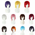 New Fashion Stylish Short Straight Wig Cosplay Party Hair Wigs HOT SELLING