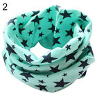STARS CHILDREN'S COTTON NECKERCHIEF KIDS BOY GIRL PRETTY WINTER SCARVES SHAWL
