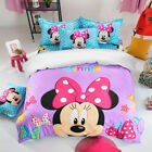 Minnie Mouse Duvet Quilt Doona Cover Set Single Double Queen Size Cartoon New