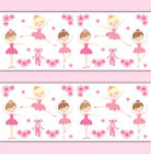 Внешний вид - Ballerina Wallpaper Border Wall Art Decal Baby Girl Ballet Dance Nursery Sticker