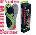 Sorbothane Single Strike Foot Care Insoles 100% Impact Protection Shock Absorber