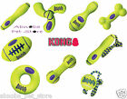 Kong AirDog Fetch Stick w/Rope Donut Bone Dumbbell Squeakair Ball Dog Puppy Toys