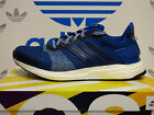 NEW ADIDAS Ultra Boost ST Men's Running Shoes - Blue/White;  AF6516