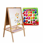 Teaching Magnetic Letters&Numbers Fridge Magnets Alphabet Baby Kids Educational