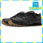 KIDS SCHOOL SHOES JUNIOR NEW BALANCE CLASSIC LEATHER BLACK 574