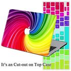 """Rubberized/Painted Hard Laptop Case for Macbook Pro 13""""15 Air 11""""+Keyboard Cover"""