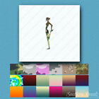 Yoga Standing Stretch - Decal Sticker - Multiple Patterns & Sizes - ebn1155