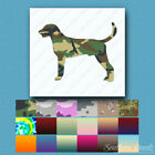 American Foxhound Dog - Decal Sticker - Multiple Patterns & Sizes - ebn1910