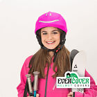 Reflective helmet covers from for skiing, snowboarding, scootering, cycling
