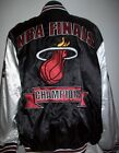 MIAMI HEAT NBA 2013 CHAMPIONSHIP SATIN JACKET Black & White 3X, 4X on eBay