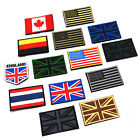Embroidered Army National Flag Patch Armband Arm Badge Crafts Making DIY PCF56