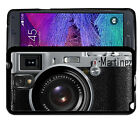 PERSONALIZED RUBBER CASE FOR SAMSUNG NOTE 3 4 5 BLACK CAMERA PHOTOGRAPHY
