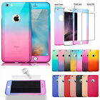 Hybrid 360° New Shockproof Case & Tempered Glass Cover For Apple iPhone 6 & 6s