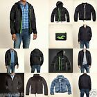 HOLLISTER GUYS ALL WEATHER Jacket Size S M L XL NWT blue NAVY gray green NEW