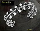 Hot Gothic Punk Classic Skeleton Men's Jewelry Stainless Steel Bracelet & Bangle