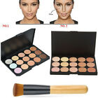 15 Colours Concealer Palette kit Face Makeup Contour Cream With / Without Brush