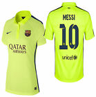 NIKE LIONEL MESSI FC BARCELONA WOMENS THIRD JERSEY 2014/15