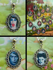 ROCKY HORROR SHOW CLIP ON CHARM OR BRACELET OR NECKLACE FRANK MAGENTA COLUMBIA