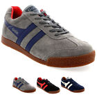 Mens Gola Harrier Classic Low Top Casual Sporty Suede Lace Up Trainers UK 7-12