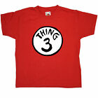 Cat in the Hat kids T Shirt - Thing 3