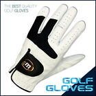 6 BRAND NEW MD GOLF MEN'S FINE CABRETTA GLOVES