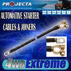 PROJECTA BATTERY STARTER CABLE MANY SIZES AVALIBLE - LUG EYELET TO TERMINAL