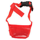 Adjustable Nylon Dog Muzzle Pet Puppy Mesh Mouth Mask Anti Biting Barking S-XL