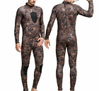 3mm Camouflage Wetsuit Jumpsuit Scuba Diving Suit Warm Swim Surf Snorkeling Wet