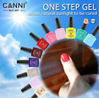 CANNI Nail Gel Polish One Step Sunlight Gel - No UV Lamp top base coat Required