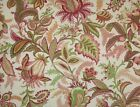 Discount Fabric Richloom Upholstery Drapery Wicklojs Passion Pink Floral RL109