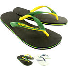 Mens Havaianas Brasil Mix Summer Flip Flops Sandal Slip On Flats US Sizes 7-12