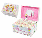 Personalised Disney Princess Girls Musical Jewellery box, Engraved Gift
